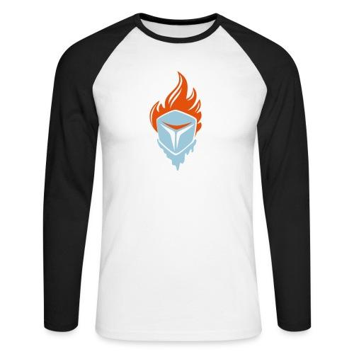 Fire and Ice 3C - Männer Baseballshirt langarm