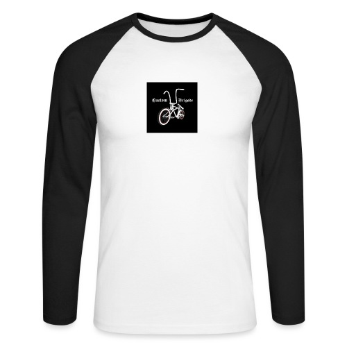 badge001 - T-shirt baseball manches longues Homme