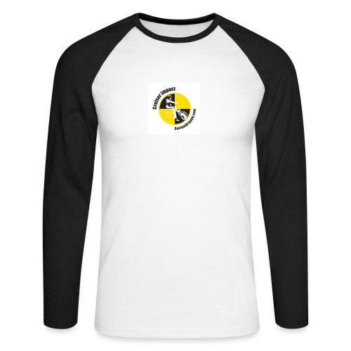 badge010 - T-shirt baseball manches longues Homme
