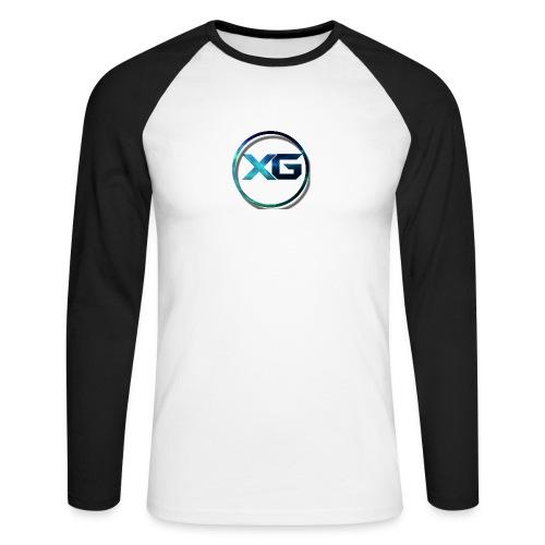 XG T-shirt - Mannen baseballshirt lange mouw