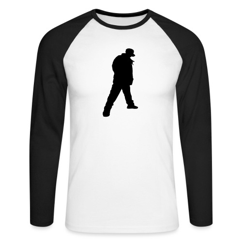 Soops B-Boy Tee - Men's Long Sleeve Baseball T-Shirt