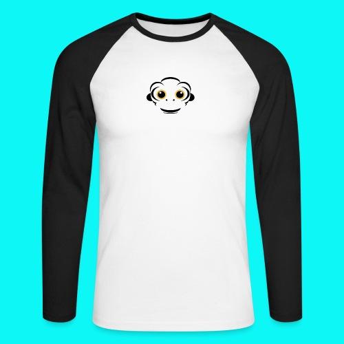 FullSizeRender_-2- - Langærmet herre-baseballshirt