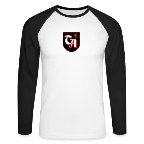 logo sandro twitch - Männer Baseballshirt langarm