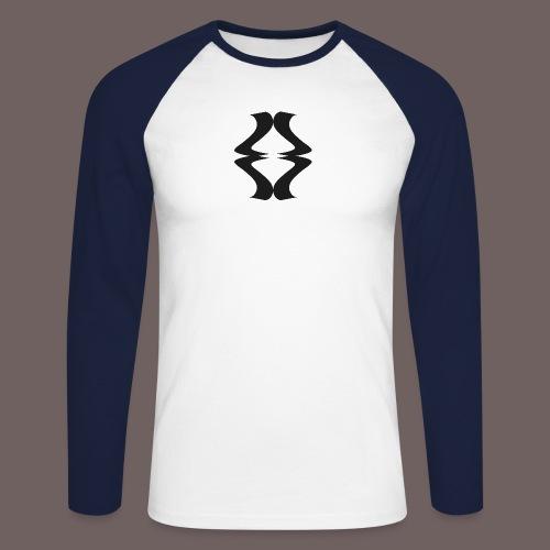 GBIGBO zjebeezjeboo - Rock - As de pique - T-shirt baseball manches longues Homme