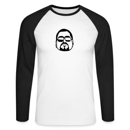 cool guy - Mannen baseballshirt lange mouw