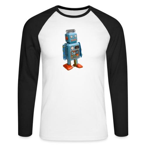 T-Shirt ROBOT - Maglia da baseball a manica lunga da uomo