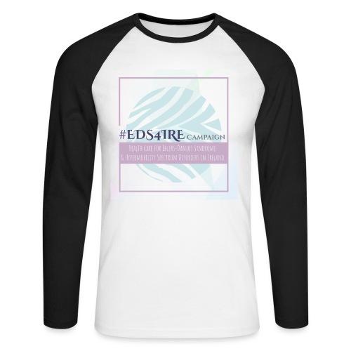 #EDS4IRE 2 - Men's Long Sleeve Baseball T-Shirt