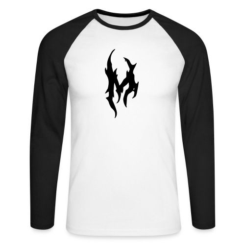 Mantigore M - Männer Baseballshirt langarm