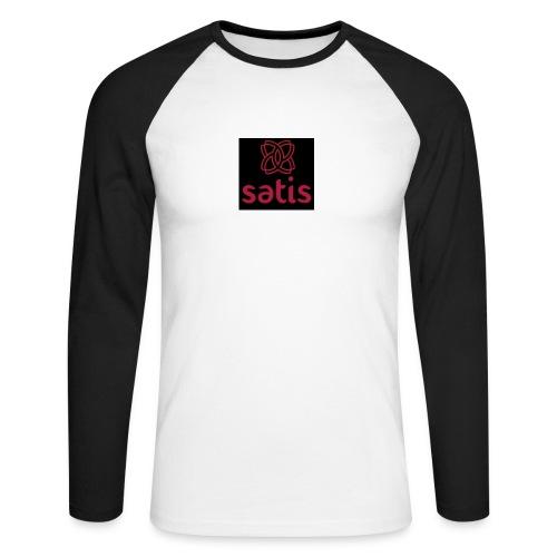 Satis - T-shirt baseball manches longues Homme