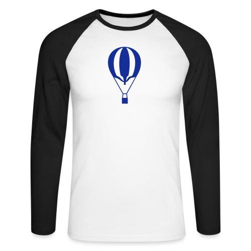 Gasballon unprall - Männer Baseballshirt langarm