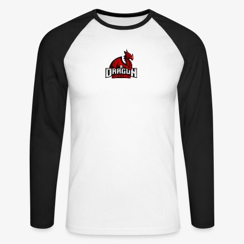 A Dragon Gaming Official Merch - Men's Long Sleeve Baseball T-Shirt