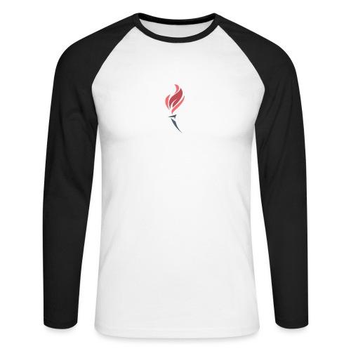 Torched Senkron - Men's Long Sleeve Baseball T-Shirt
