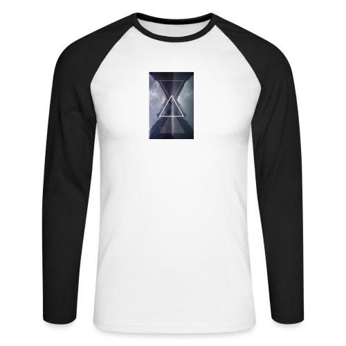 SHAPE - Koszulka męska bejsbolowa z długim rękawem