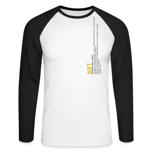 Art Definition - T-shirt baseball manches longues Homme