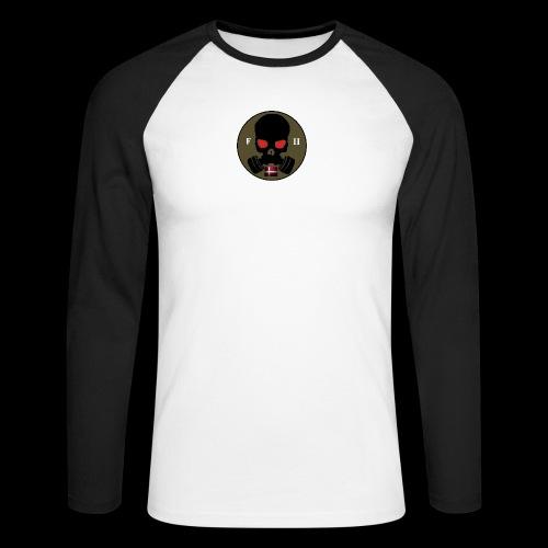 EDD - Langærmet herre-baseballshirt
