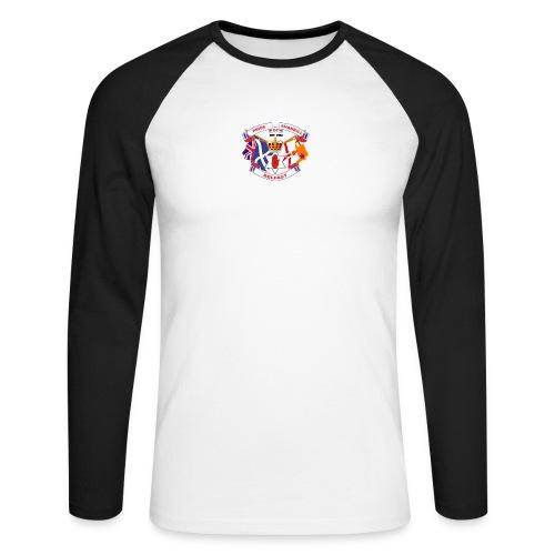 Pride of Shankill - Men's Long Sleeve Baseball T-Shirt