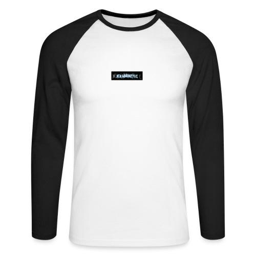DerHardstyle.ch Kleines Logo - Männer Baseballshirt langarm