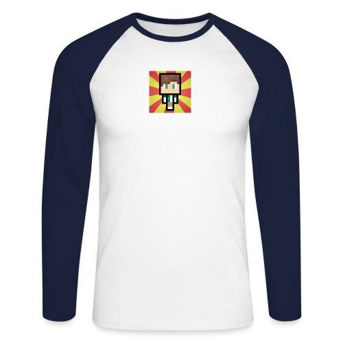 m crafter - Langærmet herre-baseballshirt