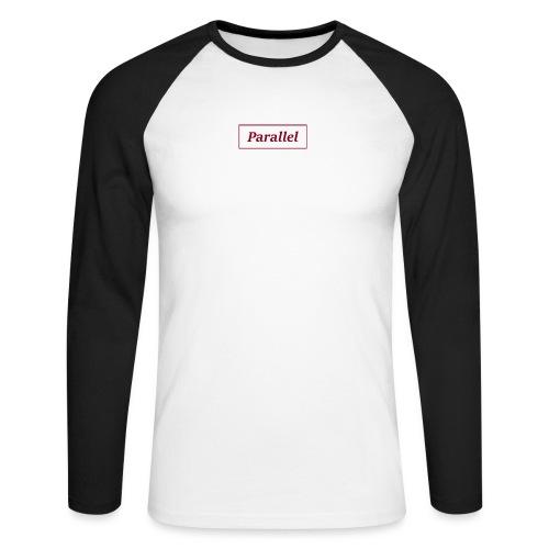 Parallel - Men's Long Sleeve Baseball T-Shirt
