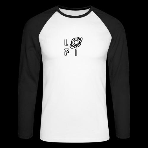 PLANET LOFI - Men's Long Sleeve Baseball T-Shirt