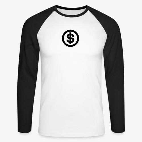 marcusksoak - Langærmet herre-baseballshirt