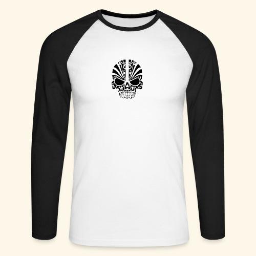 son's of freedom - Langærmet herre-baseballshirt