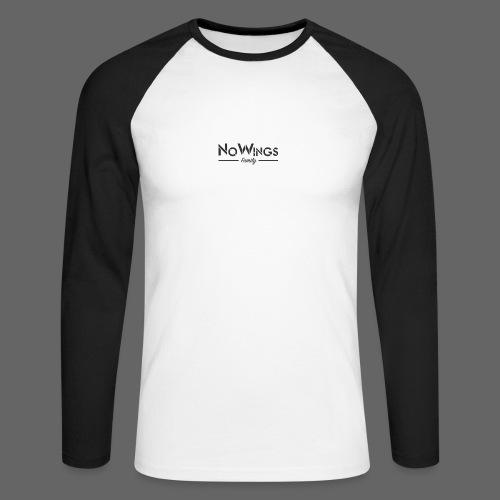 NoWings_Fam - Männer Baseballshirt langarm