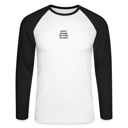 cap woes - Mannen baseballshirt lange mouw