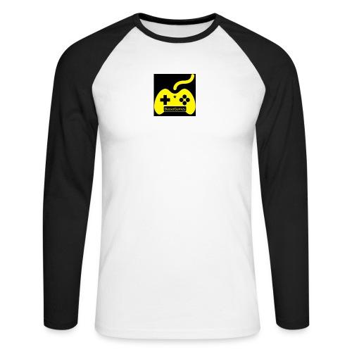 BassoGames Logi - Men's Long Sleeve Baseball T-Shirt