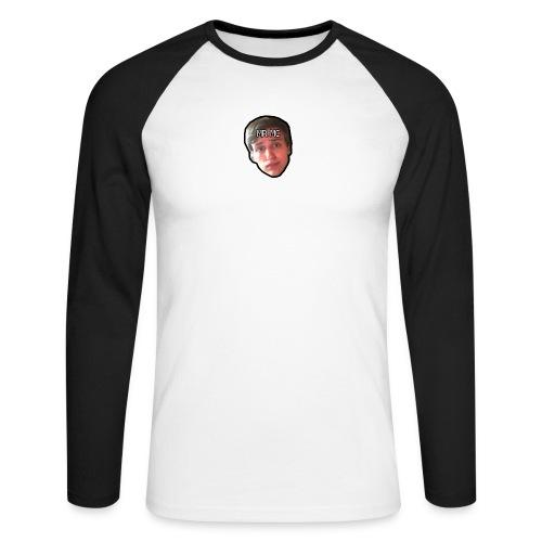 MR. MC - Langærmet herre-baseballshirt
