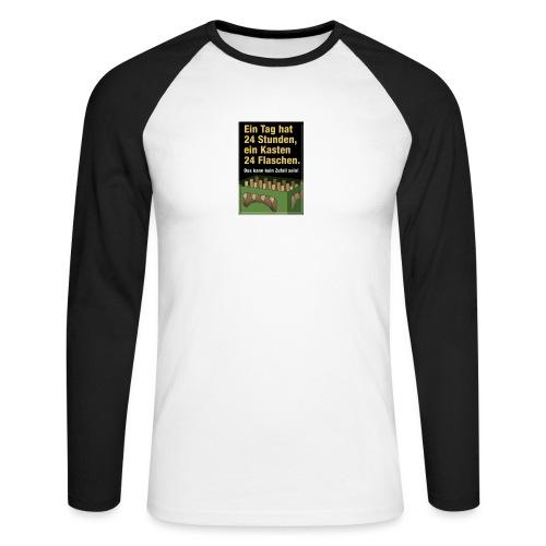 Bauern Sprüche - Männer Baseballshirt langarm