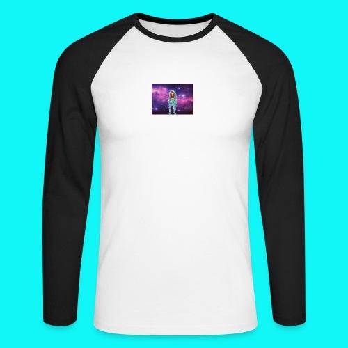 sloth - Men's Long Sleeve Baseball T-Shirt