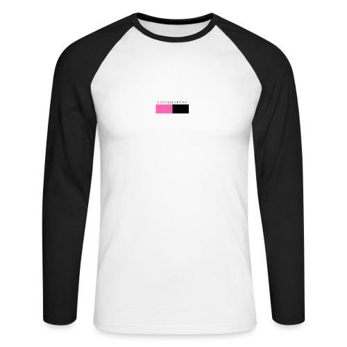 lovelelepona merch - Mannen baseballshirt lange mouw
