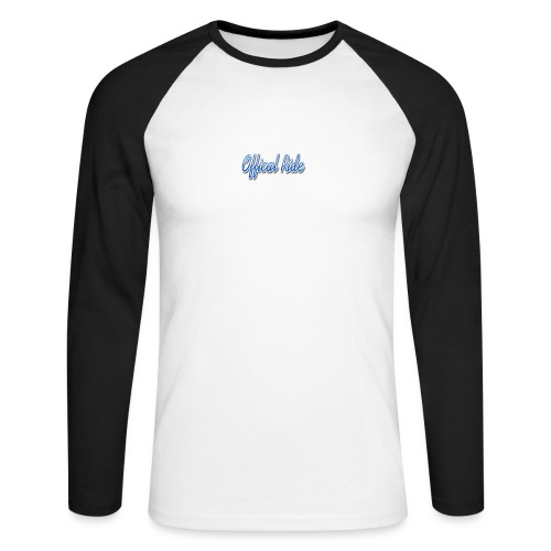 Offical Ride - Männer Baseballshirt langarm