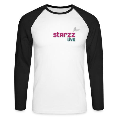 starzz live - Männer Baseballshirt langarm