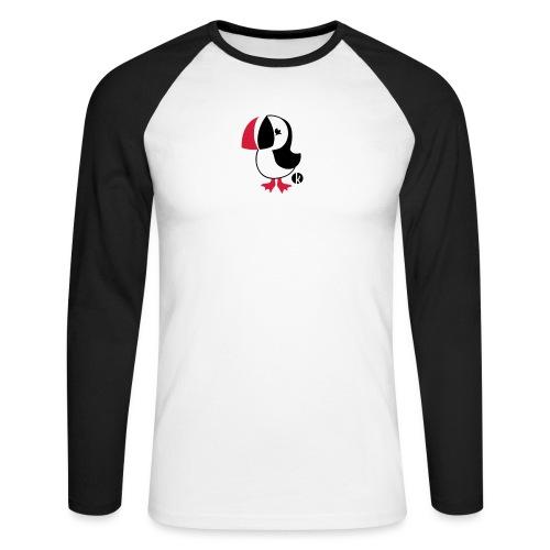 Papageitaucher - Puffin - Männer Baseballshirt langarm