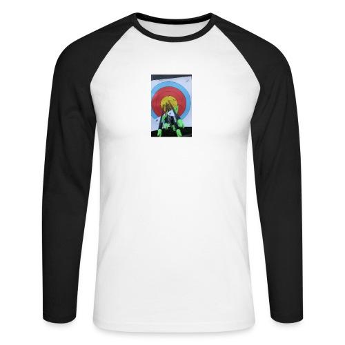 F1C5C2F0 28A3 455F 8EBD C3B4A6A01B45 - Langermet baseball-skjorte for menn