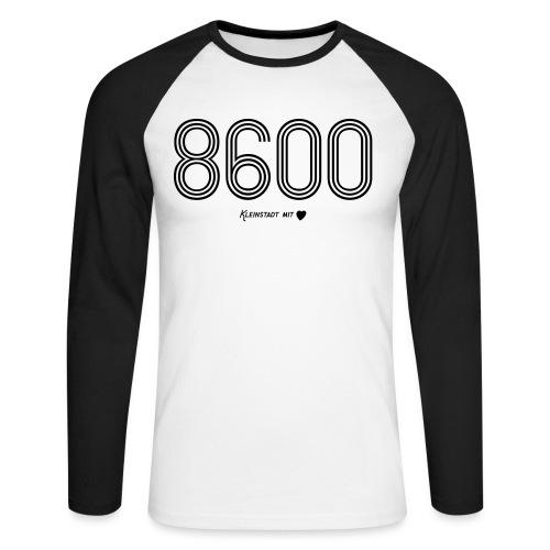 8600 - Männer Baseballshirt langarm