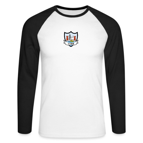 Cork - Eire Apparel - Men's Long Sleeve Baseball T-Shirt