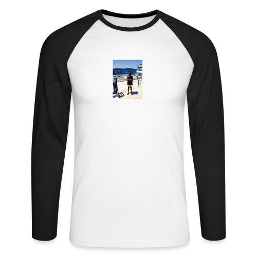IMG 0717 - Langærmet herre-baseballshirt