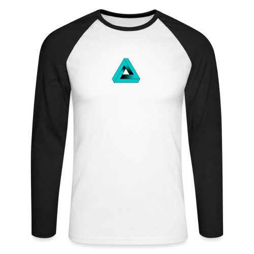 Impossible Triangle - Men's Long Sleeve Baseball T-Shirt