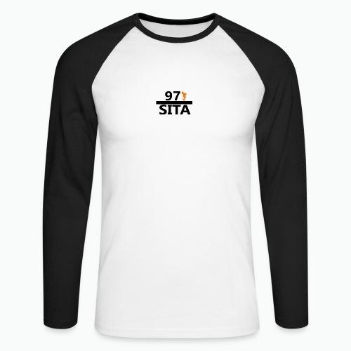 Sweat manche longue 97-Sita - T-shirt baseball manches longues Homme