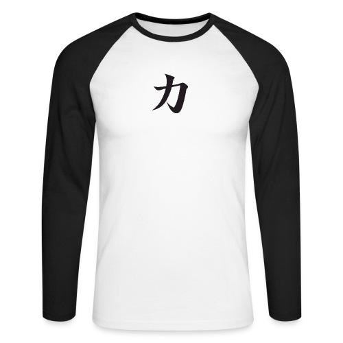 Katana - T-shirt baseball manches longues Homme
