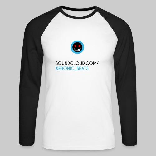 XERONIC LOGO - Men's Long Sleeve Baseball T-Shirt