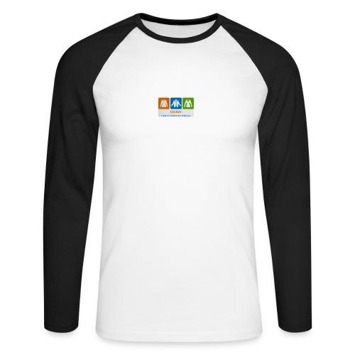 IMG 3596 - Langærmet herre-baseballshirt