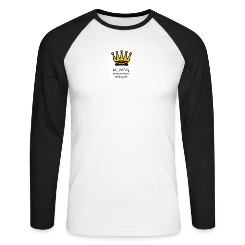MarleySimsBrown(king_MarleyTHEgreat) - Men's Long Sleeve Baseball T-Shirt