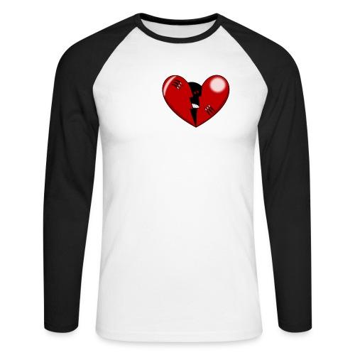 CORAZON1 - Men's Long Sleeve Baseball T-Shirt
