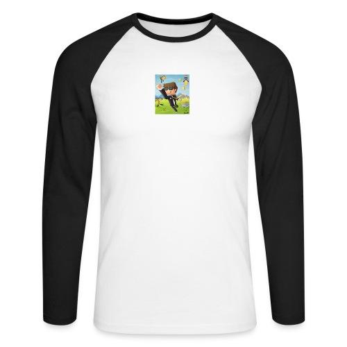 Omgislan - Men's Long Sleeve Baseball T-Shirt