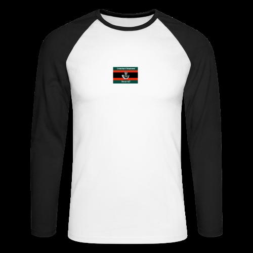 Christchurch Detachment / Dorset ACF - Men's Long Sleeve Baseball T-Shirt