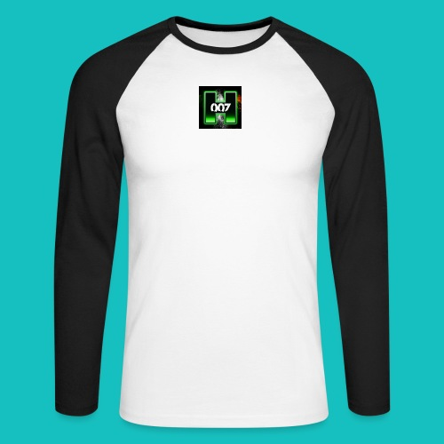 youtube avatar - Men's Long Sleeve Baseball T-Shirt